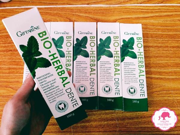 Giffarine Bio Herbal Dente Whitening Toothpaste / ยาสีฟัน กิฟฟารีน