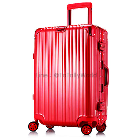 กระเป๋าเดินทาง ขนาด 29 นิ้ว - สีแดง