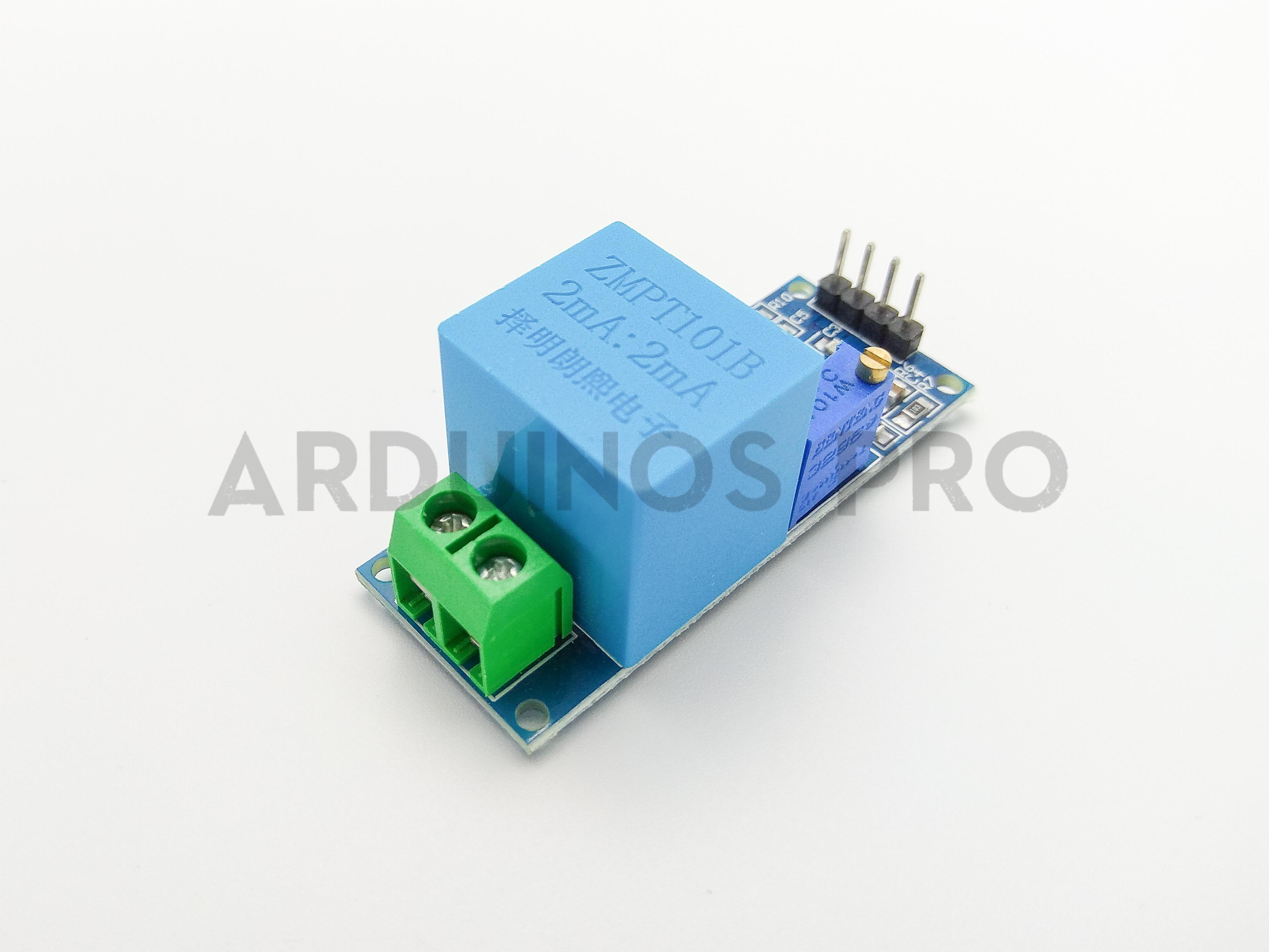 Single Phase Voltage Sensor 250VAC (ZMPT101B) เซนเซอร์วัดแรงดันไฟฟ้า AC  สูงสุด 250 โวลต์ เฟสเดียว