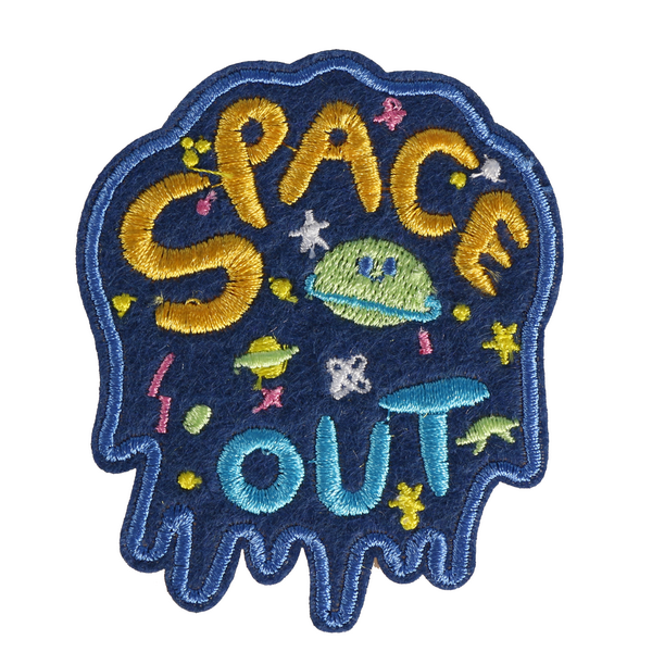 M0057 Space out 6.3x7.5cm