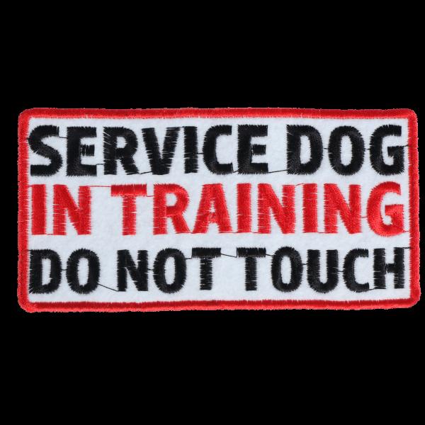 L0056 Service Dog 12x6cm