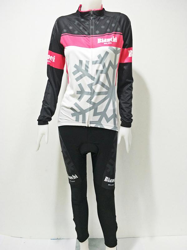 ชุดปั่นจักรยานผู้หญิงยาว : XP153100