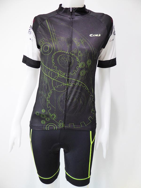 ชุดปั่นจักรยานผู้หญิงสั้น : XP152040