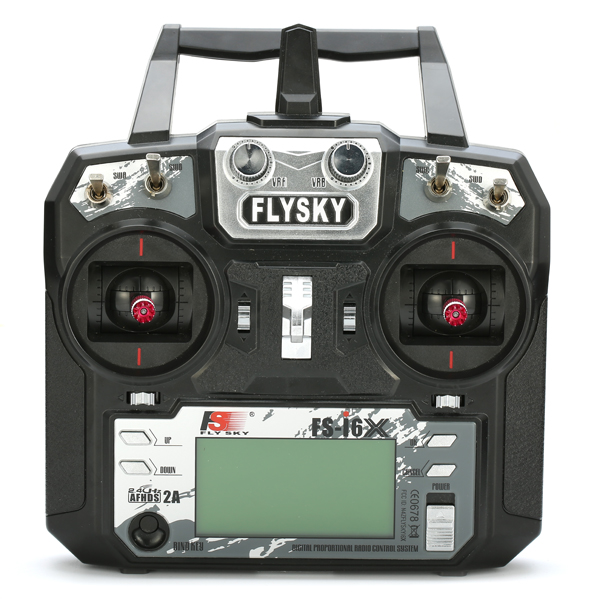 Flysky FS-i6X 2.4GHz 10CH AFHDS 2A RC Transmitter With X6B i-BUS Receiver