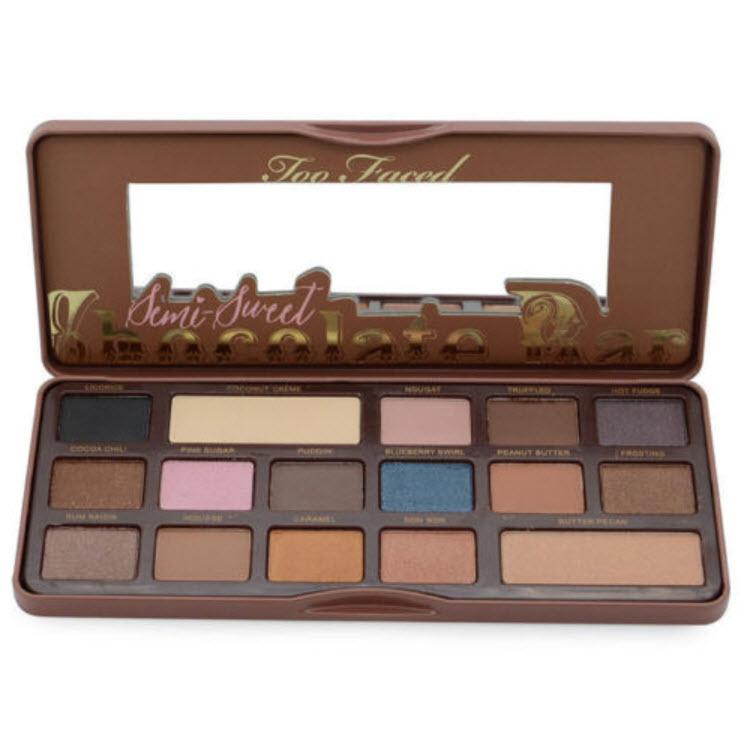 Too Faced palette ชุด Semi Sweet Chocolate Bar 16 สี