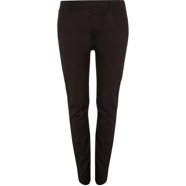 ( ไซส์ 14 เอว 36สะโพก 44 นิ้ว ) กางเกง Jegging สีดำ ยี่ห้อ Denimco ทรงขาเดปผ้ายีนส์ยืดน่ารักคะ