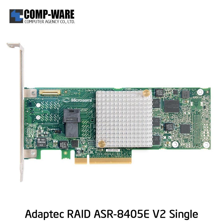Microsemi Raid Controller 2293901-R (4-Port Internal) PCIe ASR-8405E