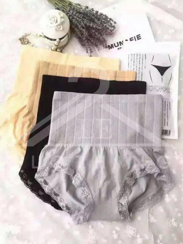 กางเกงในเก็บพุง!! (ขณะนี้เหลือ สีดำและสีครีม ด่วน!!) Freesize
