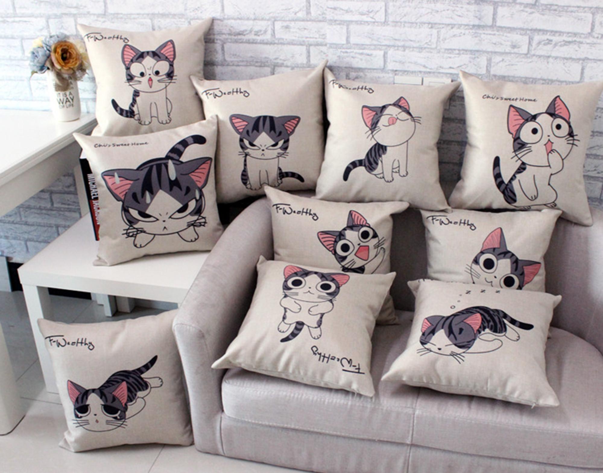 รวมรูปหมอนอิง Collection ทาสแมว 4