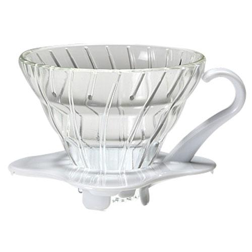 Coffee Dripper V60 - 01 Glass สีขาว