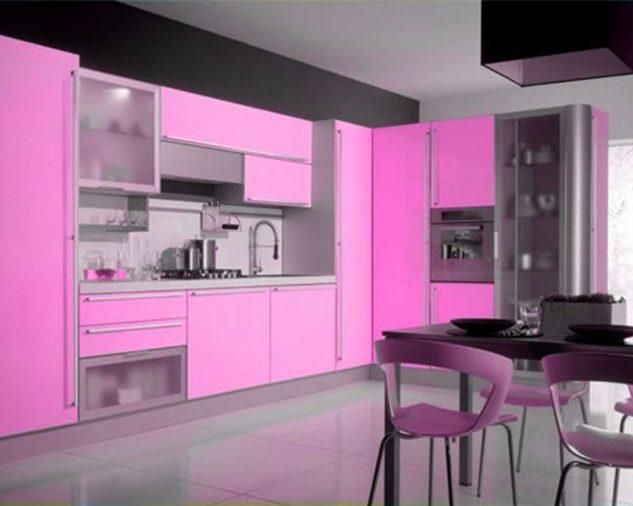 ห้องครัวสีชมพู 4