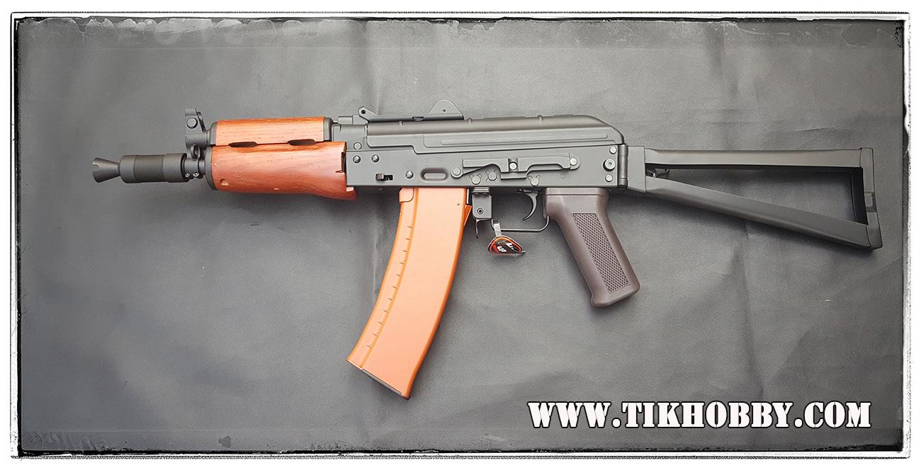 ปืนอัดลม ระบบไฟฟ้า AK74 CM045A ไม้แท้ๆ จาก Cyma