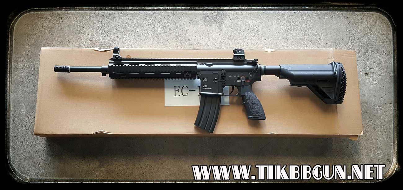 ปืนอัดลมไฟฟ้า M27 IAR จาก E & C รุ่น 103S