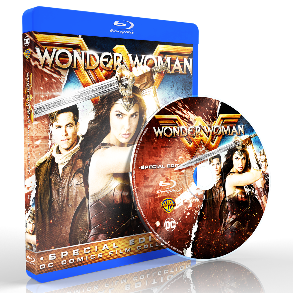 *U1722 - Wonder Woman (2017) [แผ่นสกรีน]