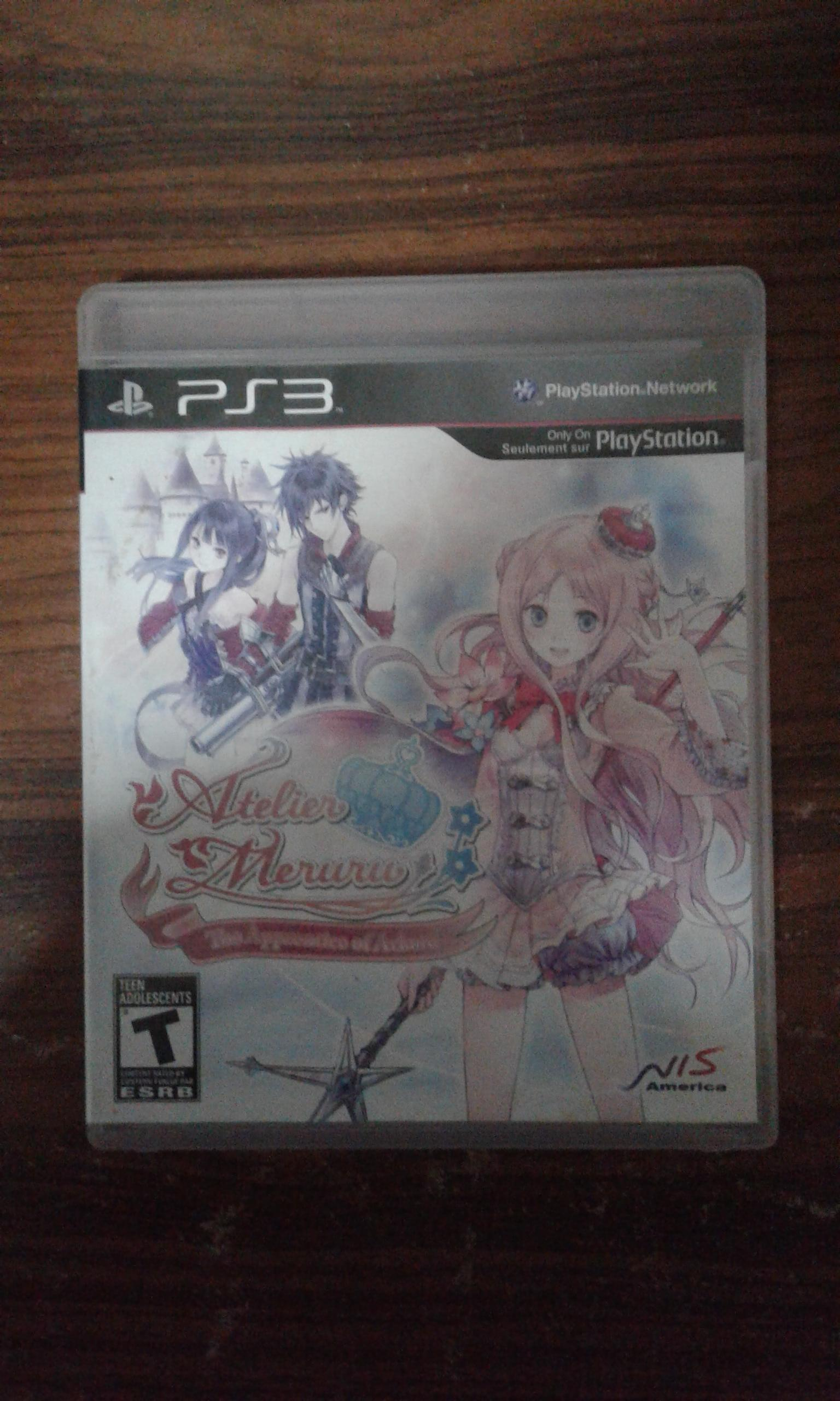 [PS3] Atelier Meruru: The Apprentice of Arland [Z1][ENG][มือ2]