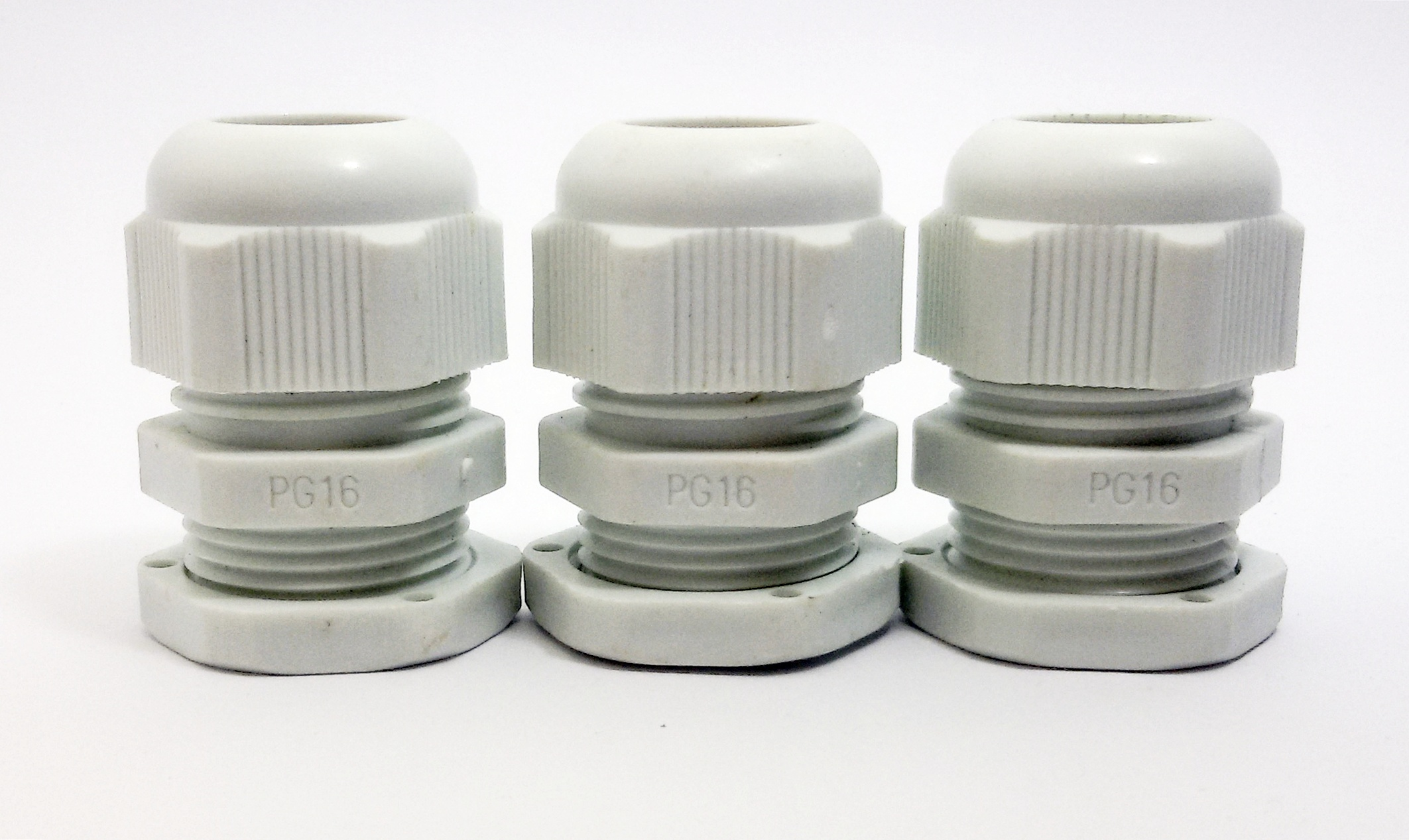LOBO ELECTRIC CABLE GLAND PG16 10 -14 mm. สีขาว