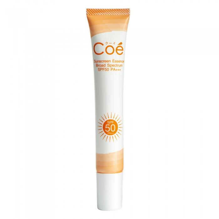 Coe Essence SPF50 PA+++ - ครีมกันแดดสำหรับใบหน้า (สีส้ม) (20 mL)