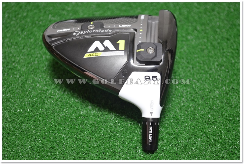 TOUR ISSUE TAYLORMADE 2017 M1 440 9.5* DRIVER HEAD ONLY