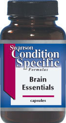 Swanson Vitamins - Brain Essentials 60 Capsules