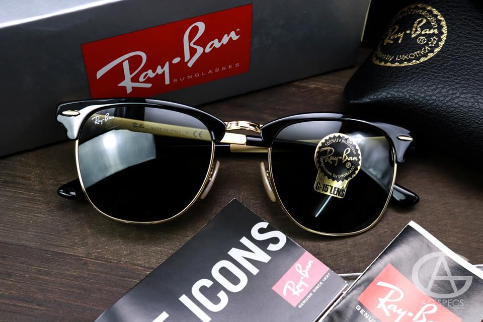 87d35fc9de8 Ray-Ban METAL RB3716 187 กรอบทอง - แว่นตาแบรนด์เนมราคาถูก ของแท้ 100%  มีใบรับประกัน   Inspired by LnwShop.com
