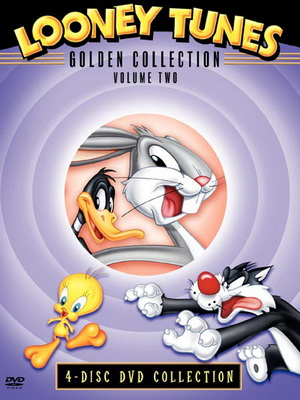 Looney Tunes Golden Collection Volume 2 : ลูนี่ย์ ทูนส์ รวมฮิตชุดพิเศษ ชุด 2 (มาสเตอร์ 4 แผ่นจบ + แถมปก)