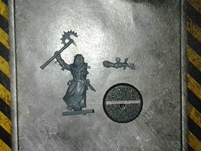 Chaos Cultists Champion with CCW DV single