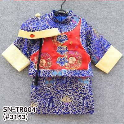SN-TR004 เสื้อ + เดรส + หมวก (80-120)