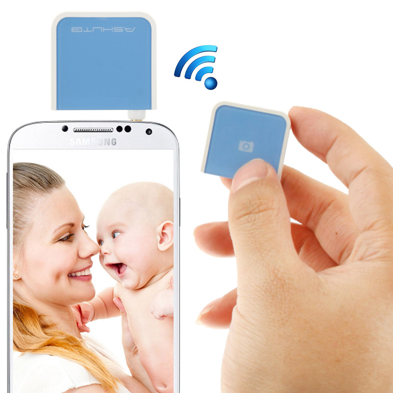 ASHUTB AB Detachable RF remote shutter (ลั่นชัตเตอร์) for Samsung Galaxy S IV / i9500 / i9300