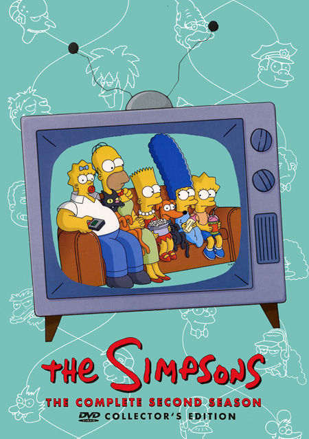 The Simpsons Season 2 : เดอะ ซิมป์สันส์ ปี 2 (DVD มาสเตอร์ 4 แผ่นจบ+แถมปกฟรี)