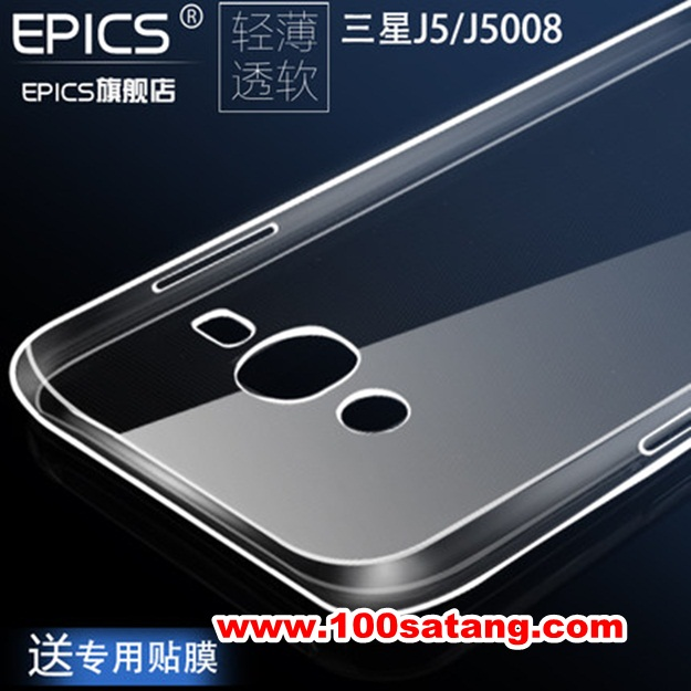 (370-047)เคสมือถือซัมซุง Case Samsung Galaxy J5 เคสนิ่มใสแฟชั่นแบบบาง