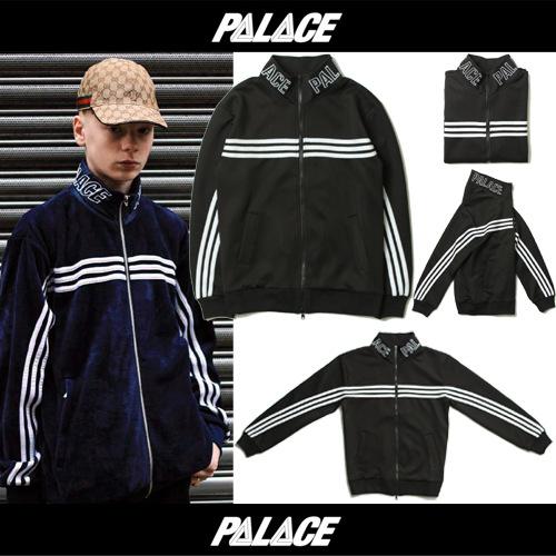 Jacket PALACE VELOUR TRACK TOP Zip-Up -ระบุไซต์-