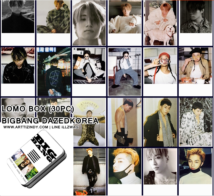 LOMO BOX BIGBANG DAZEDKOREA (30PC)