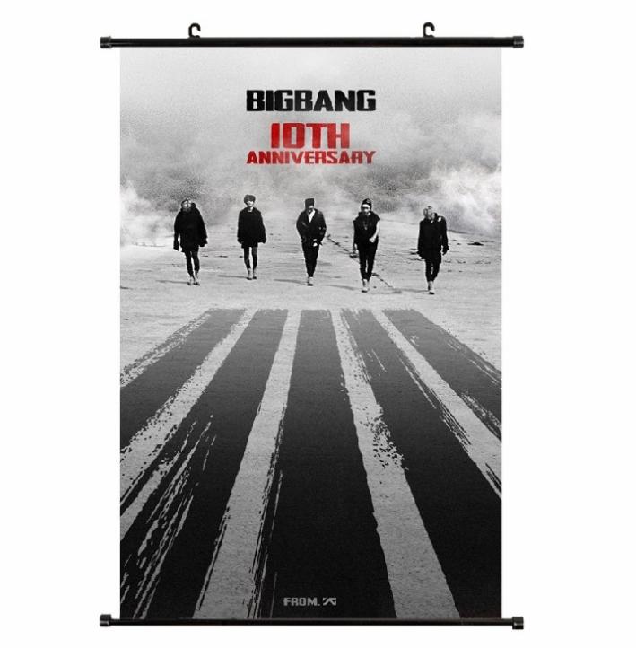 ไวนิลแขวนฝาผนัง(40x60cm) BIGBANG 10th