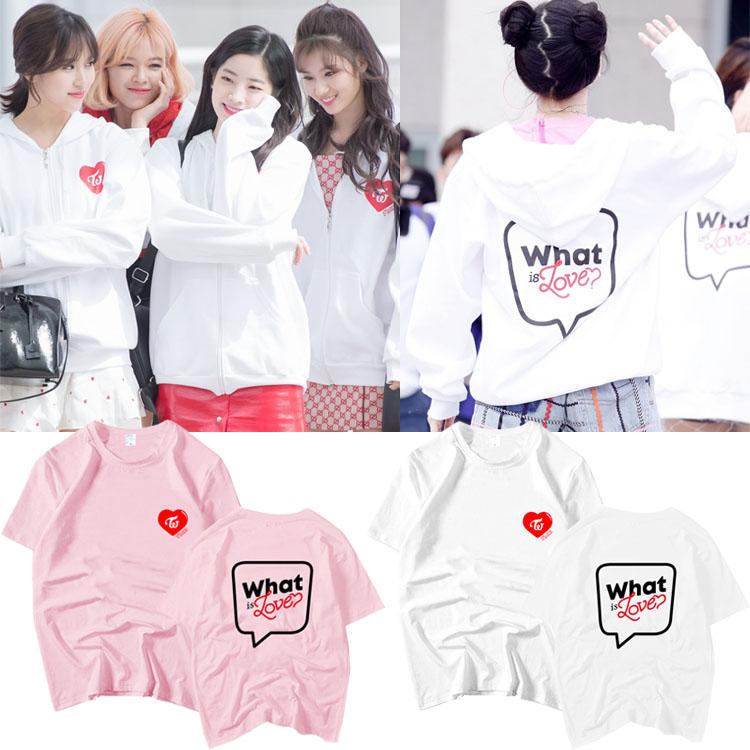 เสื้อยืด TWICE What is Love Fanmeeting -ระบุสี/ไซต์/สมาชิก-