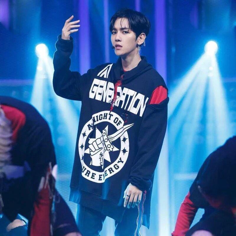 Hoodie GENERATION Sty.Baekhyun Monster -ระบุไซต์-