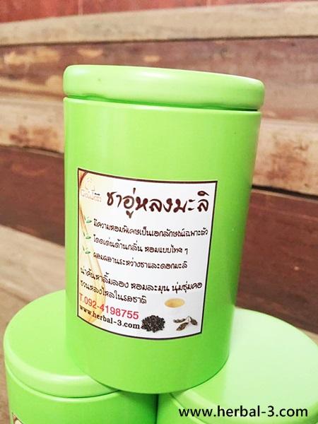 ชาอู่หลงมะลิ (บรรจุกล่องเหล็ก)