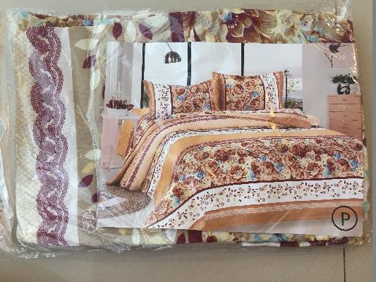 ผ้าปูที่นอน โพลี 6ฟุต 3ชิ้น คละลาย ชุดละ 82 บาท ส่ง 100ชุด