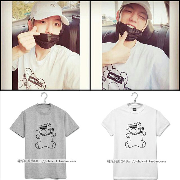 เสื้อยืด Supreme BEAR Sty.Baekhyun -ระบุสี/ไซต์-