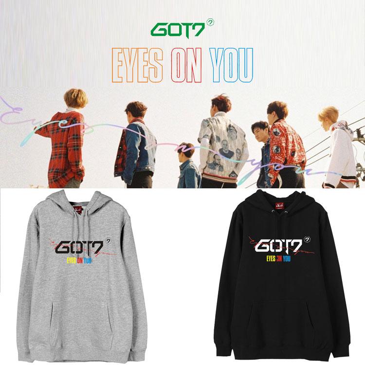 Hoodie GOT7 Eyes On You Logo -ระบุสี/ไซต์-