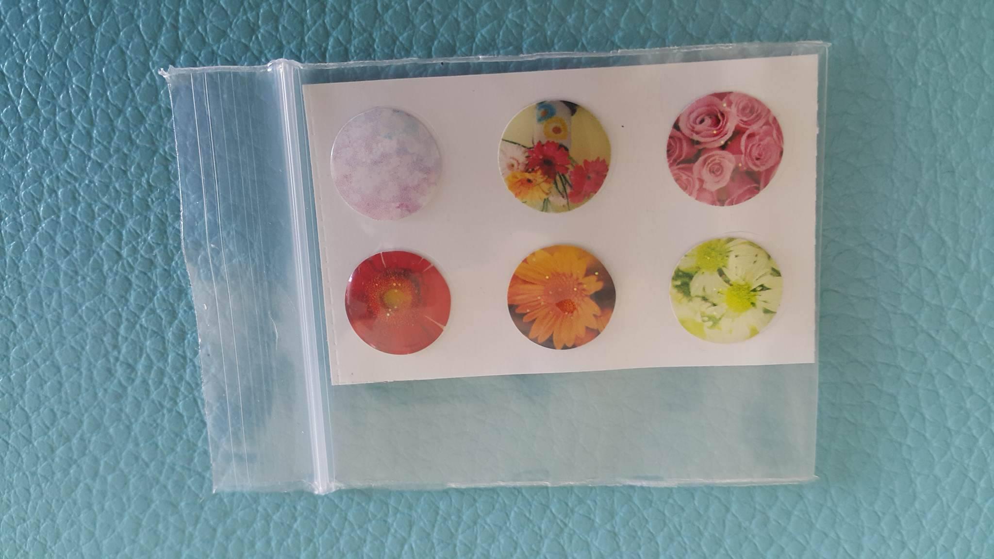 ปุ่มโฮมไอโฟน Flower (1 Pack/6 ชิ้น)