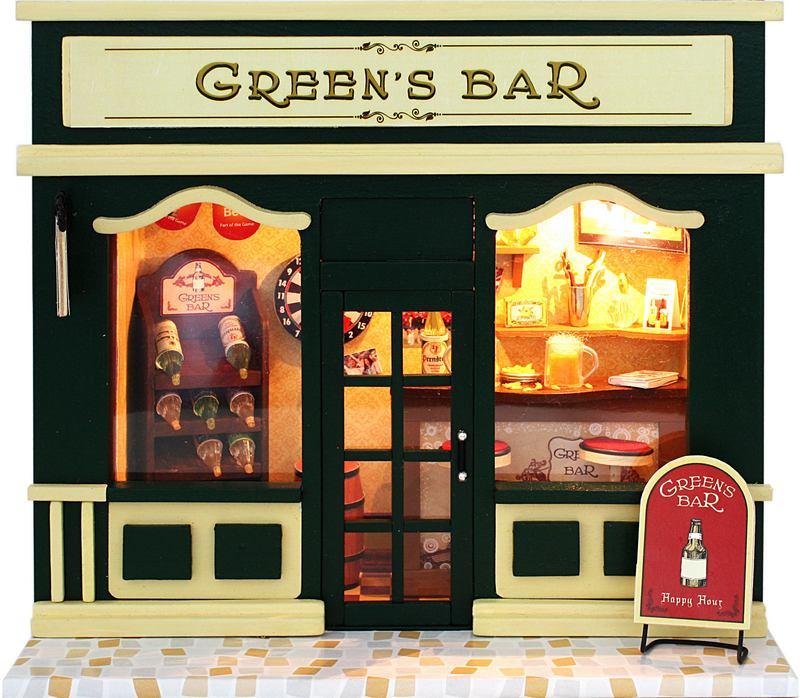 ฉาก DIY Green Bar.