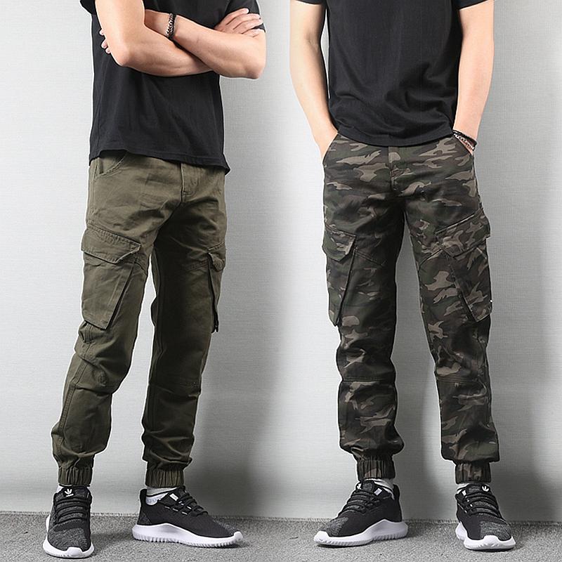 *Pre Order*Jogger Pants กางเกงแฟชั่นชายญี่ปุน size M-2XL