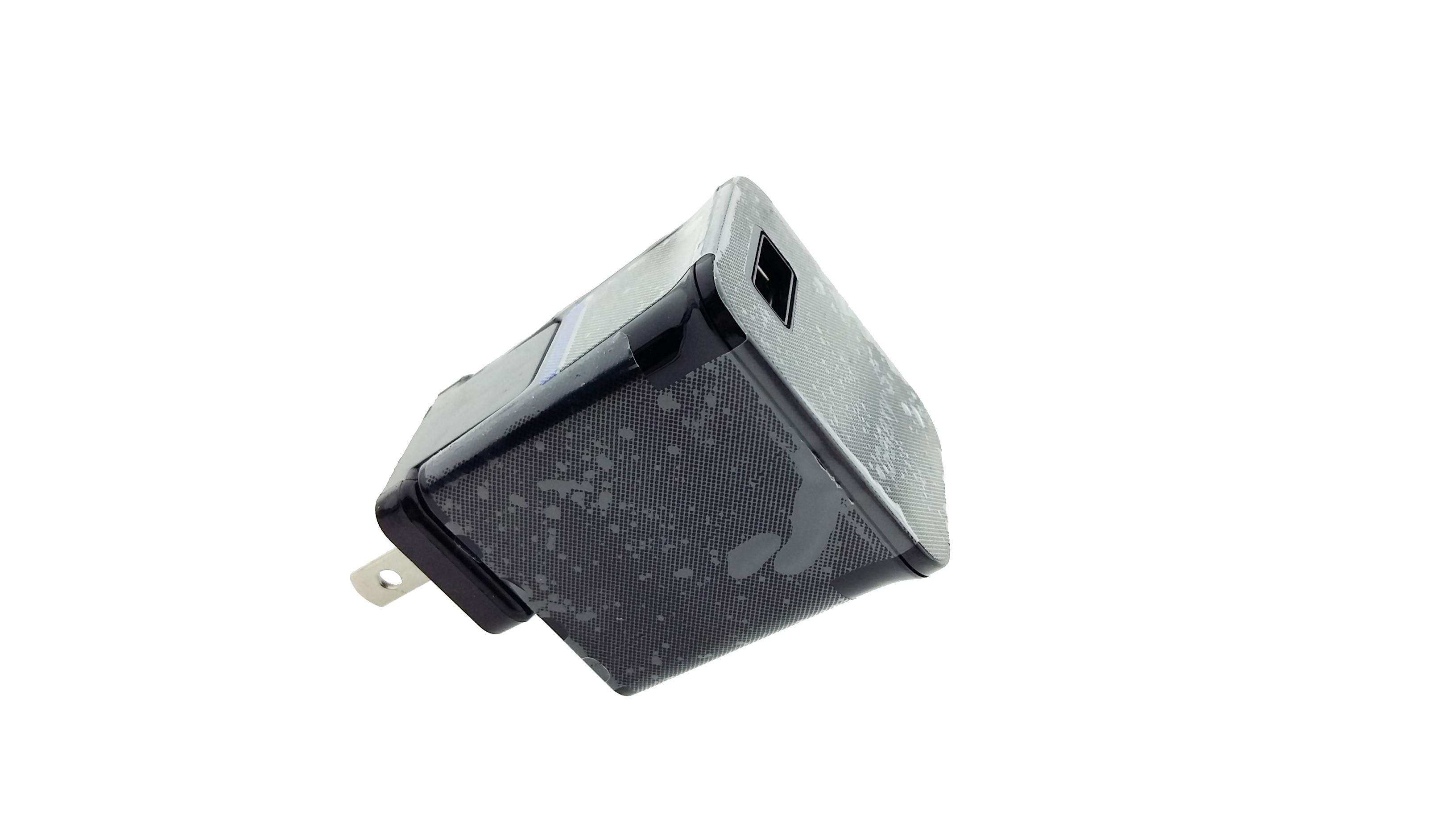 อะแดปเตอร์ หัวชาร์จ Galaxy Tab USB สีดำ