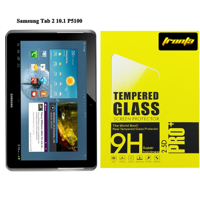 Tronta ฟิล์มกระจก Samsung GalaxyTab2 10.1 P5100 ซัมซุงกาแล็คซี่แท็บสอง