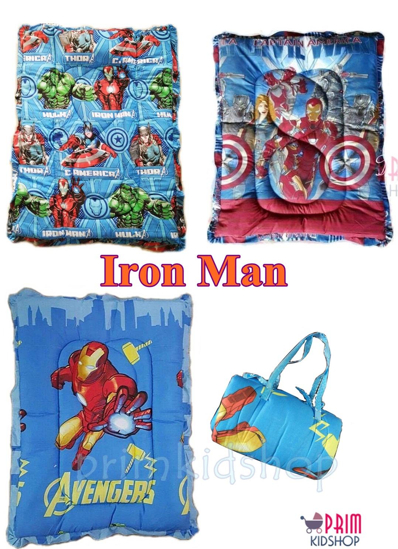 ที่นอนเด็กอนุบาลลาย Iron man
