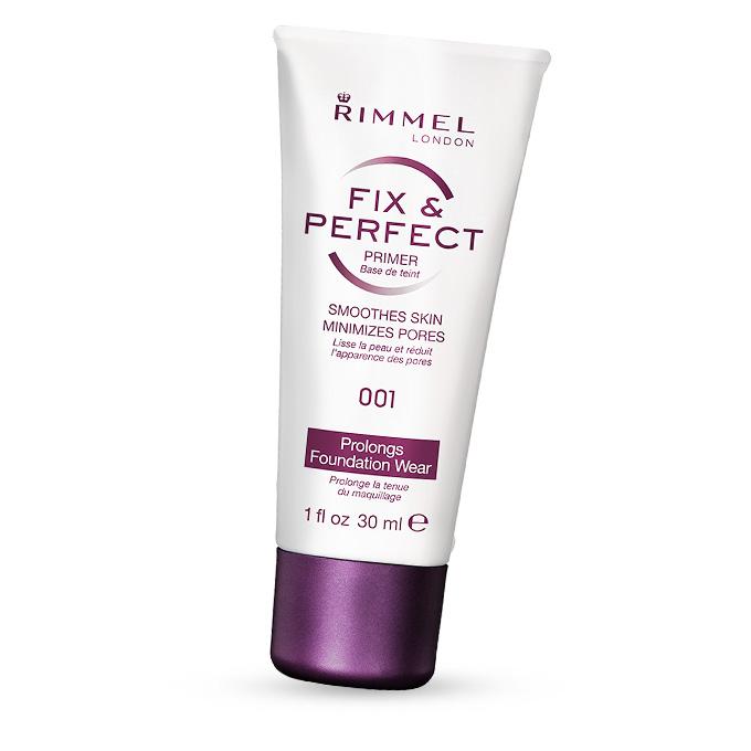 Rimmel London Fix & Perfect Foundation Primer Base No.001