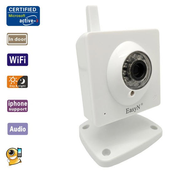 EasyN F-M161 Wireless IP Camera IR Night Version Support Motion Detection Moble View