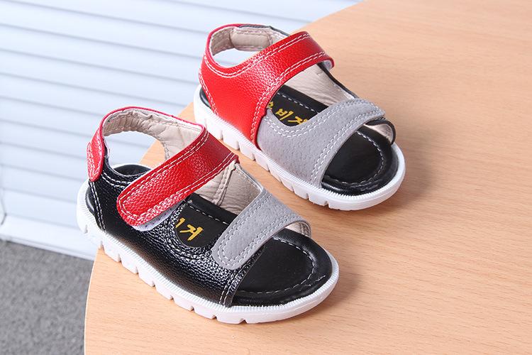 รองเท้าเด็ก พื้นยางกันลื่น รองเท้าแฟชั่นเกาหลี รองเท้าแตะเด็ก รองเท้าเด็กชาย รองเท้าเด็กหญิง รองเท้าเด็กเล็ก อายุ 0-2 ขวบ