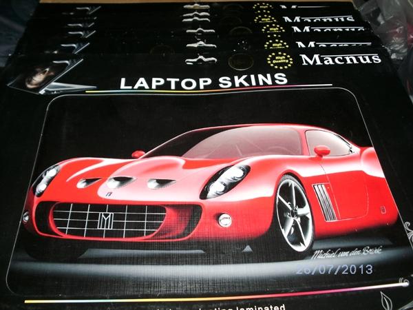 Skin Cover Notebook (Macnus) ฟรีไซค์ 10ลาย/แพ๊ค