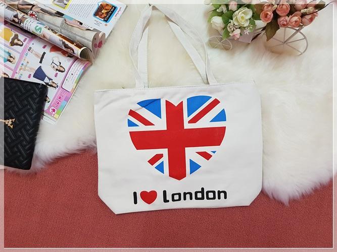กระเป๋าสะพายข้าง I Love London